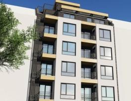 Нова жилищна сграда, находяща се на ул.